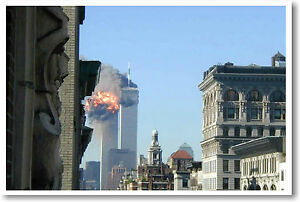 Twin Towers NYC September 11th Terrorism 9/11 POSTER
