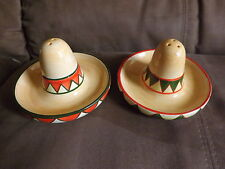 Mexico Sombrero sal y pimienta,Mexican Hat,salt and pepper shakers Must Have!!!