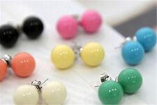 Simple yet sweet ball stud earrings, multiple colours