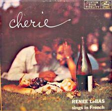 ++RENÉE LEBAS sings in french CHERIE LP MERCURY USA mets deux thunes.. RARE VG++