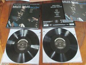 Miles Davis Kind of Blue US 2 LP MFSL 2-45011 Box 45 rpm EX- Booklet # 14062