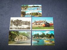 5 postcards of Christchurch, Hampshire - all 5  blank
