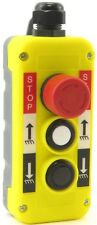 YuCo Yc-3B-Sud 3-Button Stop-Up-Down Hoist Crane Pendant Control Station Switch