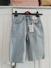 Primark Ligh Blue Denim Cycle Shorts Size 8 BNWT