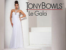 Tony Bowls Le Gala 115504--Color: Ivory--Size 6 --Prom Dress