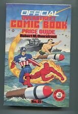 OVERSTREET COMIC BOOK PRICE GUIDE #21 (5.5) CAPTAIN AMERICA COVER 1991