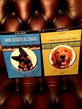 2LIVRES:Berger Allemand+Golden Retriever + 2 Dvd - Collectif - RARE INDISPONIBLE