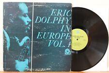 "Eric Dolphy LP ""In Europe Vol. 1"" ~ Prestige 7304 ~ VG++"