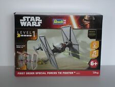 STAR WARS First Order TIE Fighter - 1:51 - Build & Play Model Kit - Revell 06751