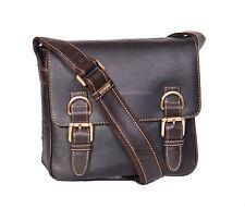 NEW Messenger Leather Shoulder Bag Man Women Vintage Brown Crossbody Casual BAG