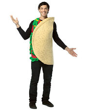 Taco Mascot One Piece Mexican Food Unisex Halloween Costume