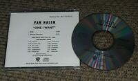 Van Halen One I Want 1998 radio promo cd w CONCERT TOUR DATES ed EDDIE EDWARD