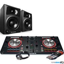 Numark Mixtrack Pro 3, M-Audio AV32 Speakers, Headphones, DJ Package Bundle Deal