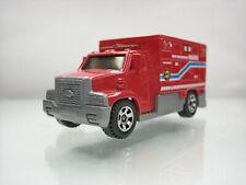 Diecast Matchbox Ambulance Van 2005 Red Good Condition