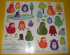 SandyLion 31 Sticker Sheet Lot~Creatures~Monsters~Trees~Sci-Fi Scrapbooking~HTF