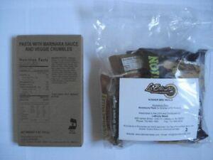 Kosher US MRE, Menue: Pasta with Marinara, Army EPA Verpflegung, Notfallration