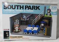 SOUTH PARK (Cartman,Kenny & Token) Construction Sets (McFarlane/2017) NEW!