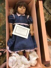 Annette Himstedt Doll Friedericke 1988 Signed Coa