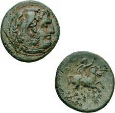 Philipp III arrhidaios MACEDONIA BRONZO Herakles cavaliere Kerykeion Price P 2 C
