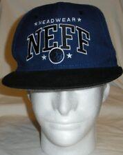 Neff Headwear Baseball Hat/Cap OSFM Blue Black White Custom Goods RN 129493