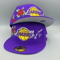 Los Angeles Lakers Lifestyle Collection 59FIFTY New Era Purple Fitted Hat