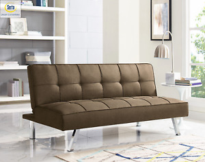 2021 Serta Chelsea Fabric Futon Sofa Sleeper Bed