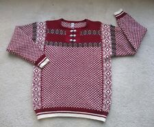 SONDRE Authentic NORWEGIAN 100% Wool Nordic SKI Sweater M