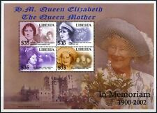 Liberia 2002 Queen Mother In Memoriam MNH M/S #D74990