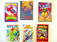LOT of 6 Marvel-DC Paperbacks, Hard-to-Find Spider-Man, X-Men, Legion, more