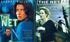 NET, THE 1 & 2: Sandra Bullock-Nikki Deloach- NEW 2 DVD