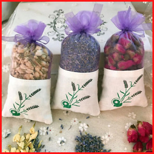 Dried Flower Sachet Bag Natural Rose Flowers Jasmine Lavender Bud Aromatherapy