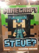 "Minecraft Steve Diamond Armor 7"" Collectible Figurine, Box May Have Distress."