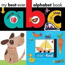 My Best Ever: ABC Alphabet Book by Make Believe Ideas (2013, Board Book)