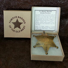 Deputy US Marshall Badge, Arizona Territory,Wyatt Earp
