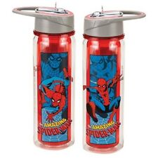 The Amazing Spider-Man Art Images 18 oz. Double Wall Tritan Water Bottle NEW
