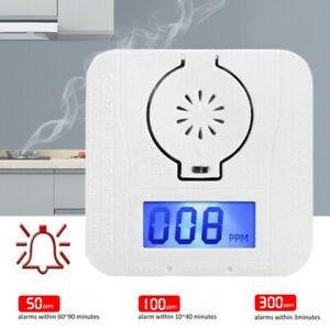 Kohlenmonoxidmelder CO Melder   Gasmelder Gas Warner Detektor LCD Display Sensor