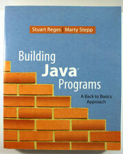 Building Java Programs : A Back to Basics Approach (Reges, Stepp) (NO CD)