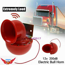 12V 200DB Super Loud Sound Electric Bull Air Horn For Motorcycle Car Truck Taxi