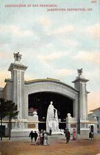 1907 JAMESTOWN EXPO, SAN FRANCISCO DESTRUCTION EXHIBIT, SEARLES MEDICAL ADV