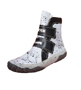 Eject Shara Grafitti - Sporty Women's Ankle Boots Touch Fastener