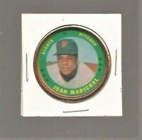 1971 Topps Baseball Coin #125 Juan Marichal San Francisco Giants