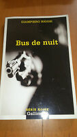 Giampiero Rigosi - Bus de nuit - Série Noire