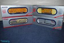 Williams Lot 4 Freight Cars- WAL #01, WAL #02, WAL #40, #47065PM **