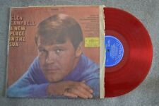 Glen Campbell New Place In The Sun Taiwan Red Record lp original vinyl album