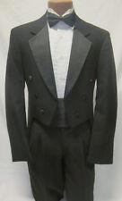 41S Black Tuxedo Fulldress Tailcoat Debutante Jacket Theater Victorian Theater