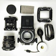Mamiya RB67 Pro S Medium Format 120 SLR Film Camera w/ 90mm f3.5 Lens + Release