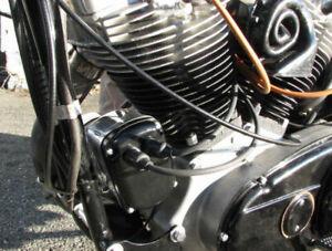 Morris Magneto X5 Generator Mounted Harley Sportster Flathead Model K Ironhead