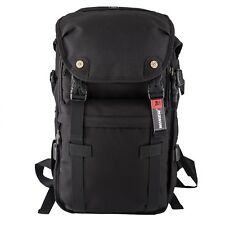 DSLR Camera Bag Military Travel Backpack Waterproof Nikon Canon Video Cover Case
