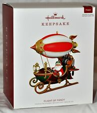 Hallmark Magic (Power Cord) 2018 Keepsake Ornament Santa Flight of Fancy NIB