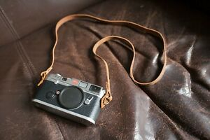 Handmade Genunie Real Leather camera strap neck strap for vintage camera 01-059